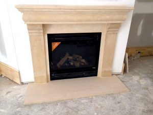 Cast Stone Fairy Fireplace - Fireplaces Atlanta